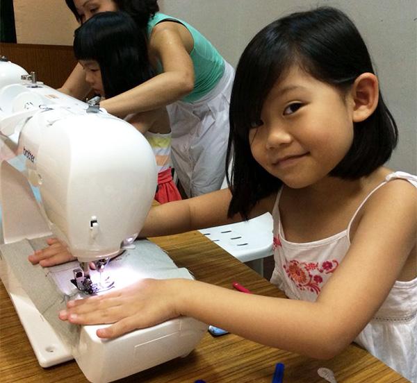 sewing workshops for kids