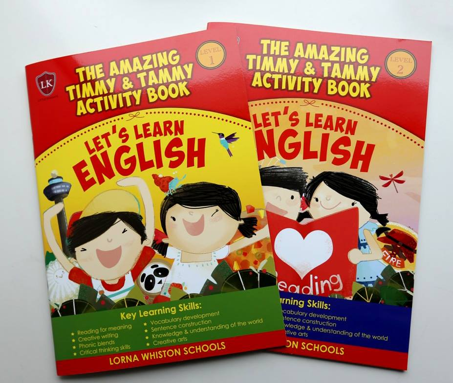 The Amazing Timmy and Tammy activity books
