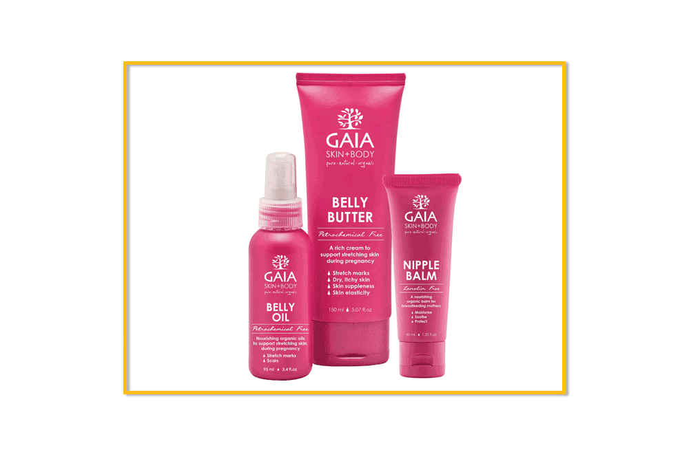 best organic products gaia belly butter