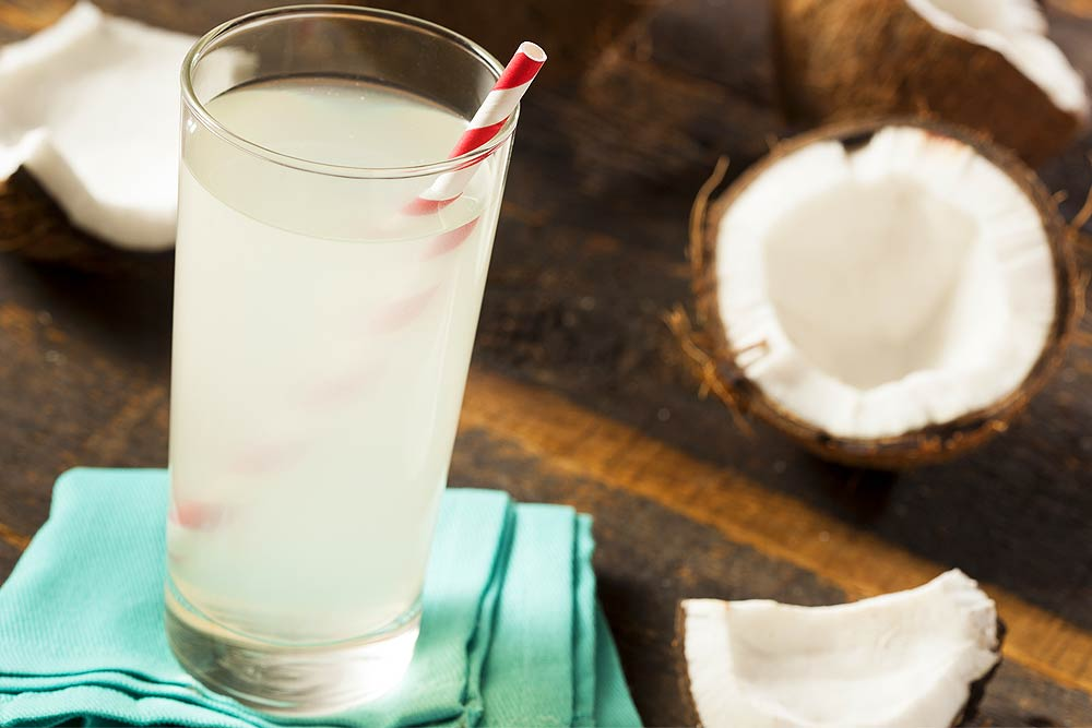 coconut water benefits drink