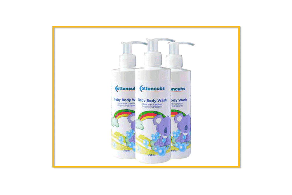 best organic products cottoncut baby body wash