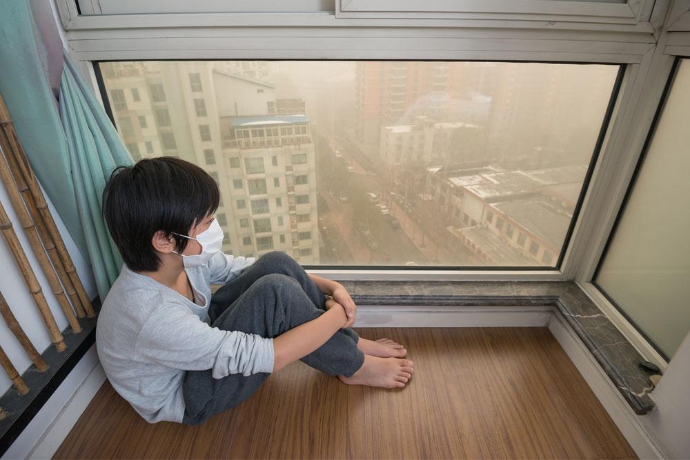 haze singapore child