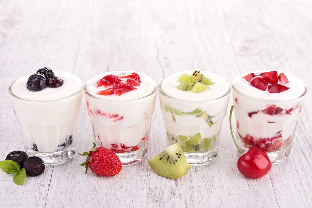snacking yoghurt