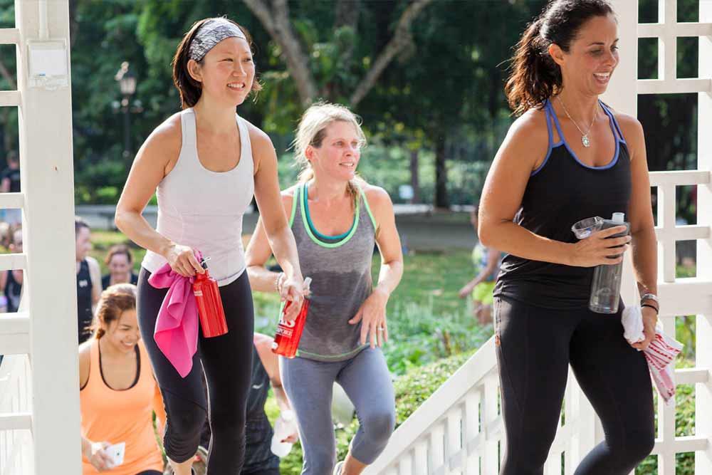 momentum bootcamps women fitness