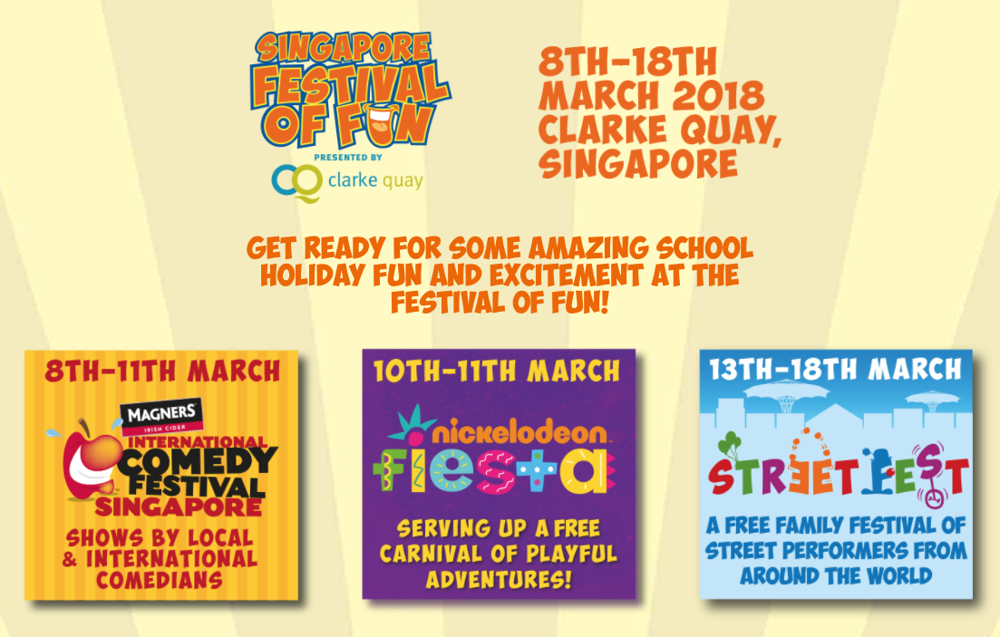 Catch The Festival of Fun This March Holiday! - Parents World