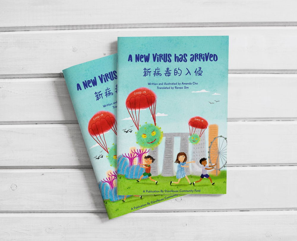 """A New Virus has arrived"" –  Children's Book on COVID-19"