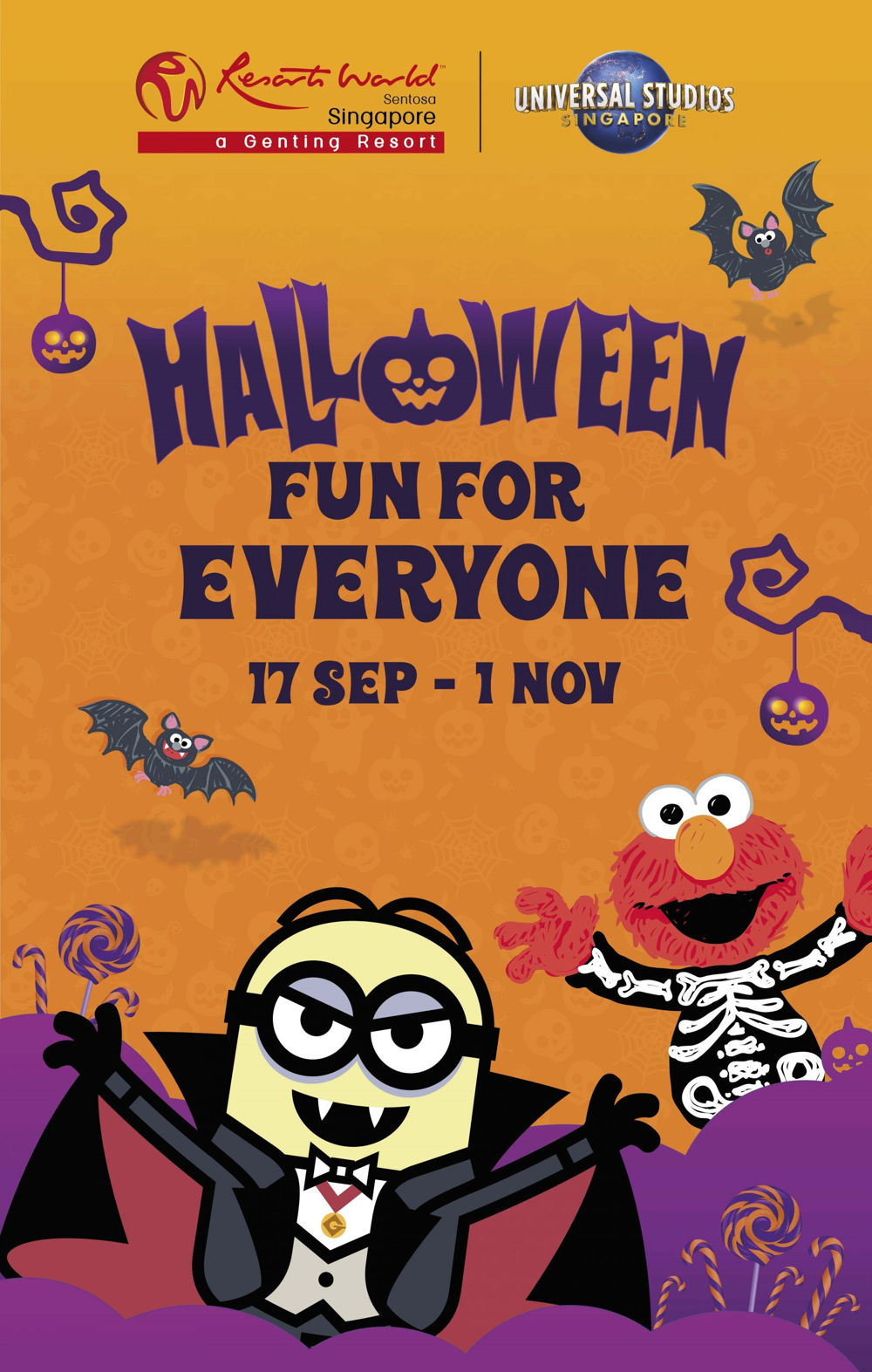 Celebrate Halloween with Spook-tastic Fun at Resorts World Sentosa!