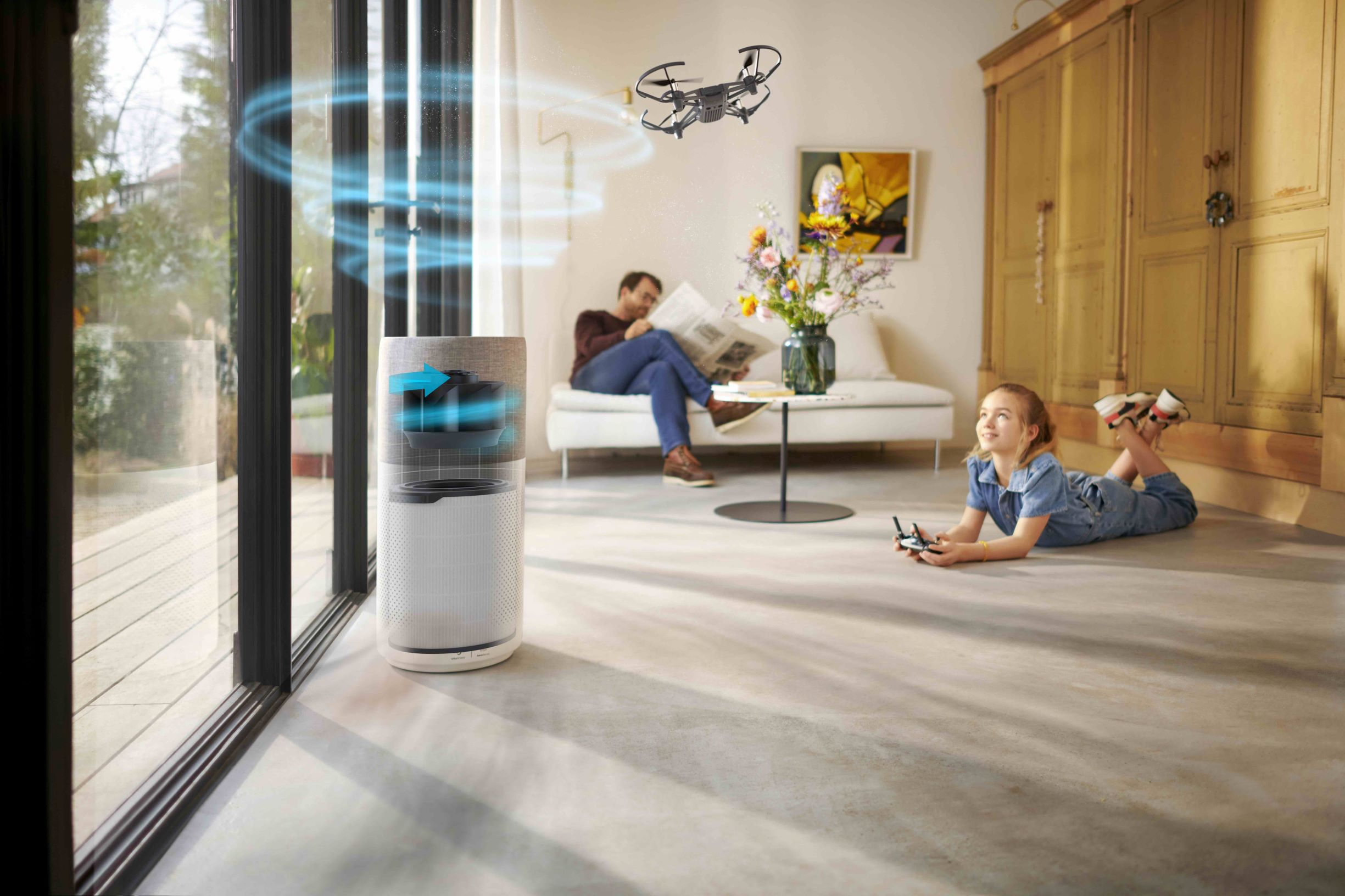 Philips Air Purifier 2000i, 3000i Series: Breathe the Difference!
