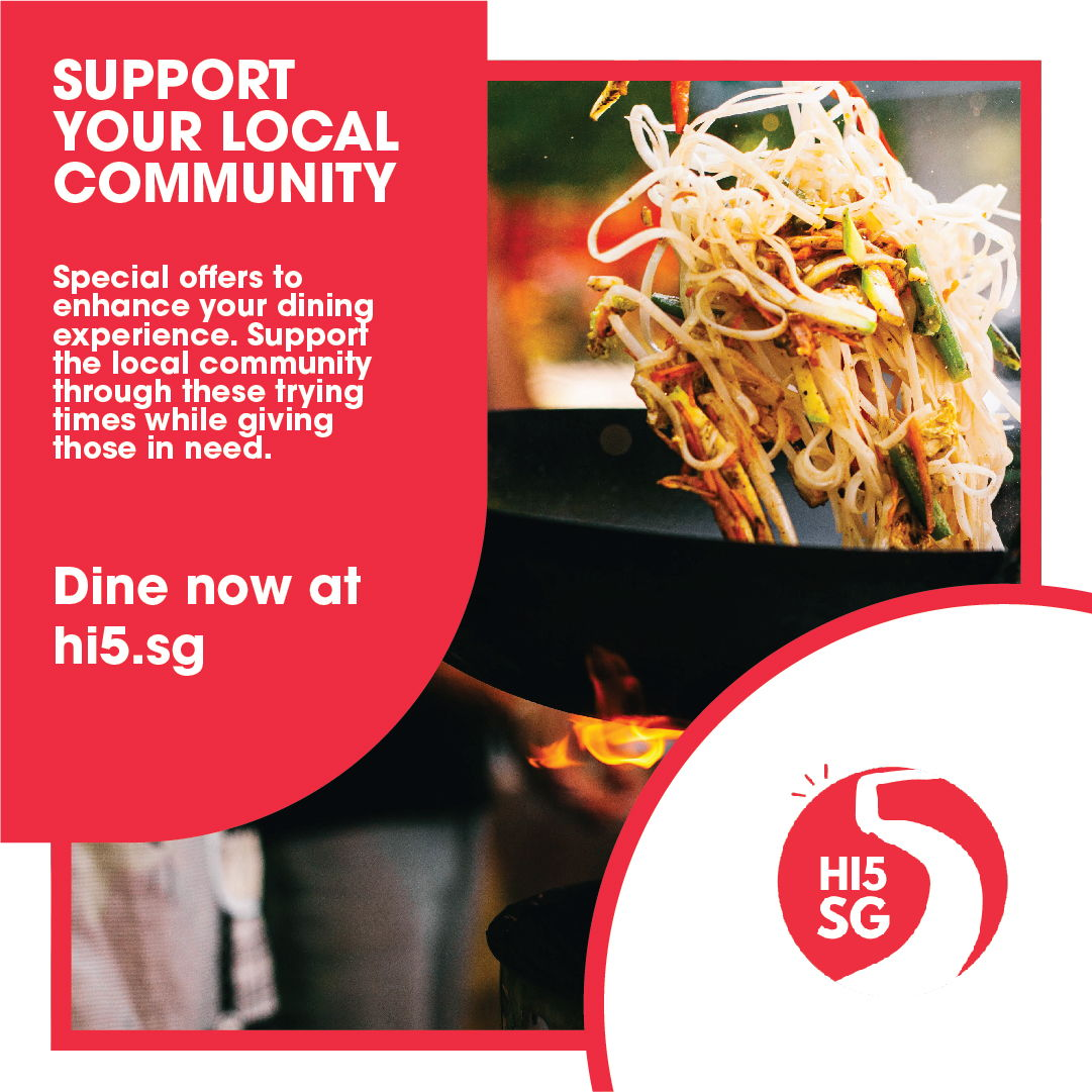 Hi5SG: Inviting You to Eat For a Good Cause!