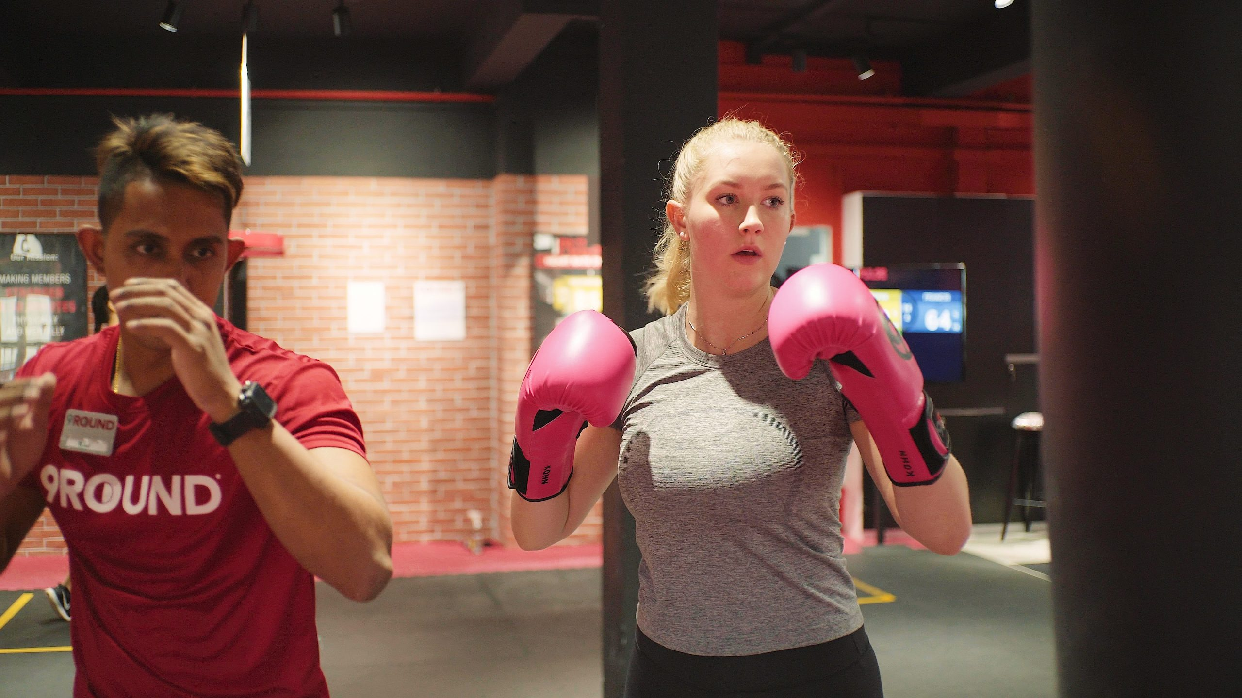 Kick, Punch, Sweat! 9Round is Calling Busy Moms to Try Kickboxing!